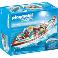 Playmobil Family Fun Motorboot mit Unterwassermotor (9428)