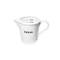 HTI-Living Messbecher Messbecher 500ml Messbecher 500ml, Porzellan, Messbecher