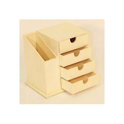 HTI-Living Aufbewahrungsbox Büro Set Holz Büro Set Holz, Büroset