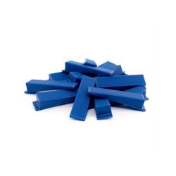 Lantelme Verlegeset 250 Keile für Fliesen Verlegehilfe, (250-tlg), Fliesen Keile für Zuglaschen in blau