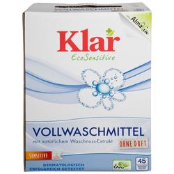 KLAR Vollwaschmittel Pulver 6 x 2,475 kg