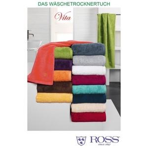 Seiftuch VITA sand Baumwolle beige ROSS TEXTI 4004/5633 (BL 30x30 cm) Ross Textilwerke GmbH