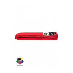 KARATE-GÜRTEL, TOKAIDO, WKF-ZULASSUNG, ROT (Größe: 345, Farbe: Rot)