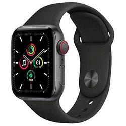 Apple Watch SE 40 mm (GPS + Cellular) schwarz, space gray