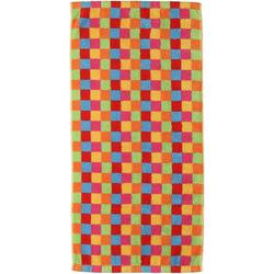 Cawö Saunatuch Lifestyle Cubes (1-St), mit bunten Karos