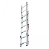 HAILO Schiebeleitern für ortsfeste Steigleitern mit Trittauslöser für Stahl- und Edelstahl Steigleitern