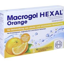 Hexal Macrogol HEXAL Orange 10 St
