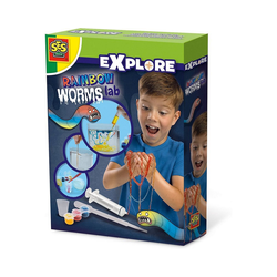 SES Creative Lernspielzeug Regenbogen Würmer selber machen