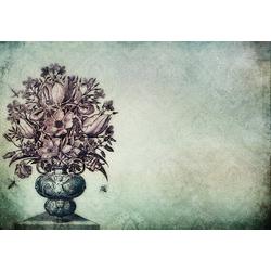 Consalnet Papiertapete Blumenstrauß in Vase, floral 2,54 m x 1,84 m