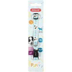 ZOLUX Halsband Puppy MASCOTTE S blau