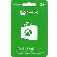 Microsoft Xbox Live Guthabenkarte (25 EUR)