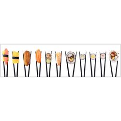 Küchenrückwand - Spritzschutz profix, Sushi, 220x60 cm bunt