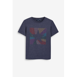 Next T-Shirt Legeres T-Shirt blau 38