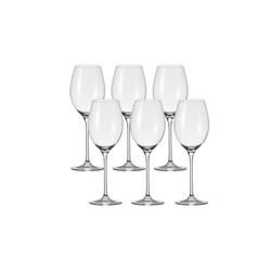 LEONARDO Rotweinglas Rotwein-Glas 6er-Set Cheers, Glas