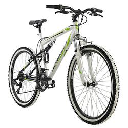 Mountainbike Fully 26 Zoll Scrawler Mountainbikes weiß