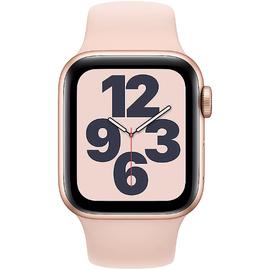 Apple Watch SE GPS + Cellular 40 mm Aluminiumgehäuse gold, Sportarmband sandrosa