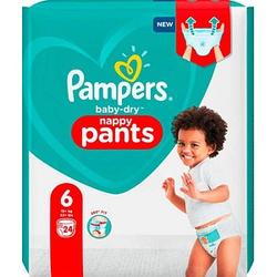Pampers® Windeln baby-dry™ nappy pants Größe Gr.6 (15+ kg) für Kleinkinder
