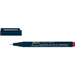 PILOT PILOT Zeichenstift Drawing Pen SW-DR-01-R 4111002 0,28mm rot