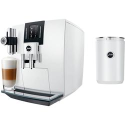 JURA Kaffeevollautomat 15165 J6 Piano White, inkl. JURA Milchbehälter Cool Control im Wert von 169,99 € UVP
