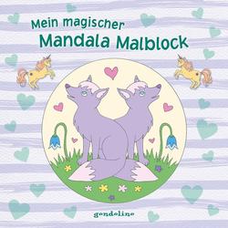 Mein magischer Mandala Malblock (Fuchs) als Buch von