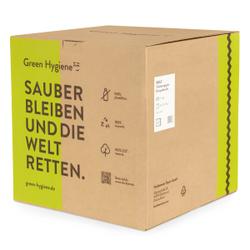 Green Hygiene® ROLF Toilettenpapier, 2-lagig, Umweltfreundliches Klopapier aus 100% recyceltem Papier, 1 Karton = 36 Rollen