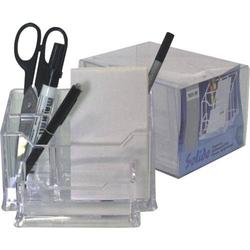 Stifteköcher Serie Solido mit Zettelfach