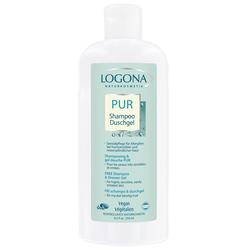 LOGONA PUR Shampoo & Duschgel 250 ml
