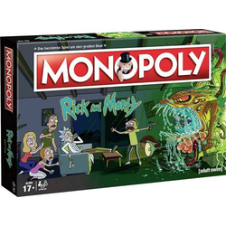 Monopoly - Rick and Morty Rick & Morty Monopoly - Rick & Morty 45069