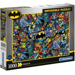 Clementoni® Puzzle Impossible Collection - Batman, 1000 Puzzleteile