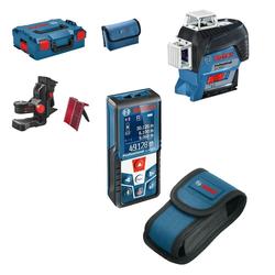 Linienlaser GLL 3-80 C Set und Laser-Entfernungsmesser GLM 50 C