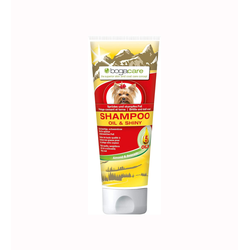 Bogar Pfelge für Hunde - Haut- und Fellpflege Bogacare SHAMPOO OIL & SHINY 6x 200 ml