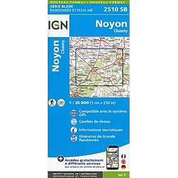 Noyon.Chauny 1:25 000 - Buch