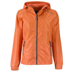 Damen Outdoorjacke   James & Nicholson orange XL