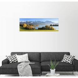 Posterlounge Wandbild, Forggensee, Allgäu 90 cm x 30 cm