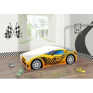 Kinderbett Autobett Lattenrost Matratze Auto Junior