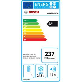 Bosch Serie 4 GSN36VW3P weiß