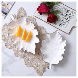 ZELLERFELD Schale Zellerfeld Premium Design Snackschale Knabberschale Porzellan Cerezlik Service Dessert Dips, weiß
