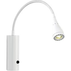 Nordlux LED Leselampe Mento, LED-Board, Warmweiß weiß Leselampen Lampen Leuchten