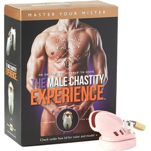 CB-X CB-X CB6000S Chastity Cage Solid Pink 1er Pack(1 x 1 Stück)