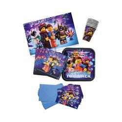 Amscan Kindergeschirr-Set Partyset Lego Movie 2, 42-tlg.