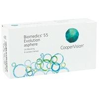 CooperVision Biomedics 55 Evolution 6 St. / 8.90 BC / 14.20 DIA / -4.50 DPT