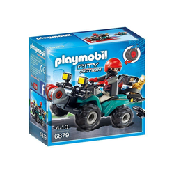 Playmobil® Spiel, PLAYMOBIL® Ganoven-Quad mit Seilwinde