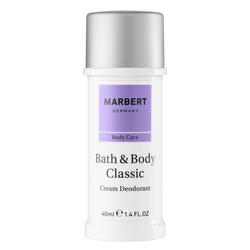 Marbert Deodorant Cream Deodorant Creme 40ml