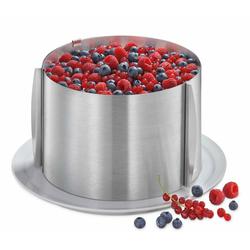 Küchenprofi Springform Küchenprofi Tortenring verstellbar, extra hoch