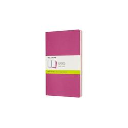 Moleskine Cahier Large/A5 3er Set Blanko Kinetisches Pink