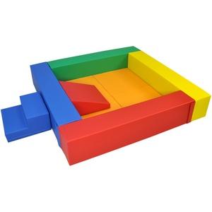 IGLU Bälle-Bad / Ballpool / Ballebad / Leiter und Rutsche / Softbausteine