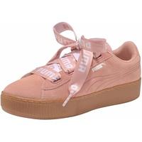 Puma Vikky Platform Ribbon Bold peach/ gum, 38.5