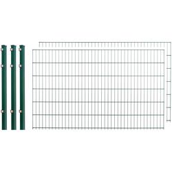 Arvotec Doppelstabmattenzaun, 2 Stk., LxH: 4x1,2 m, grün