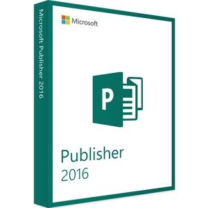 Microsoft Publisher 2016 Vollversion | Windows | Produktschlüssel + Download