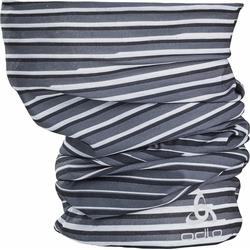 Odlo Printed Schlauchschal black - odlo graphite grey - white (60226)